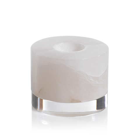 Taj Alabaster Tealight Holder by Panorama City