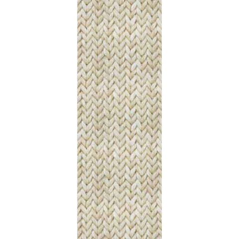 Tapiz Sisal Beige Cable Knit Texture Wall Mural by Eijffinger for Brewster Home Fashions