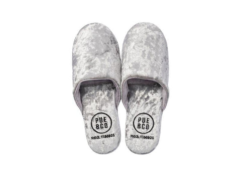 Velvet Slipper - Small - Silver