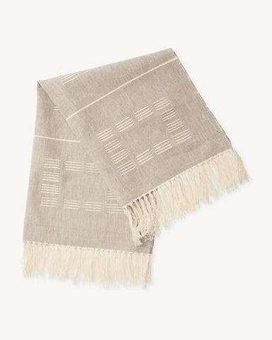 Blocks Towel in Beige by Minna