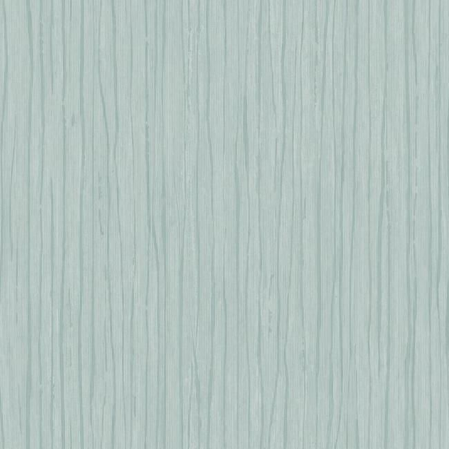 Sample Temperate Veil Wallpaper in Blue by Antonina Vella for York Wallcoverings