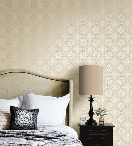 Tendilla Lattice Wallpaper from the Alhambra Collection by Brewster Home Fashions
