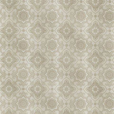 Tendilla Taupe Lattice Wallpaper from the Alhambra Collection by Brewster Home Fashions