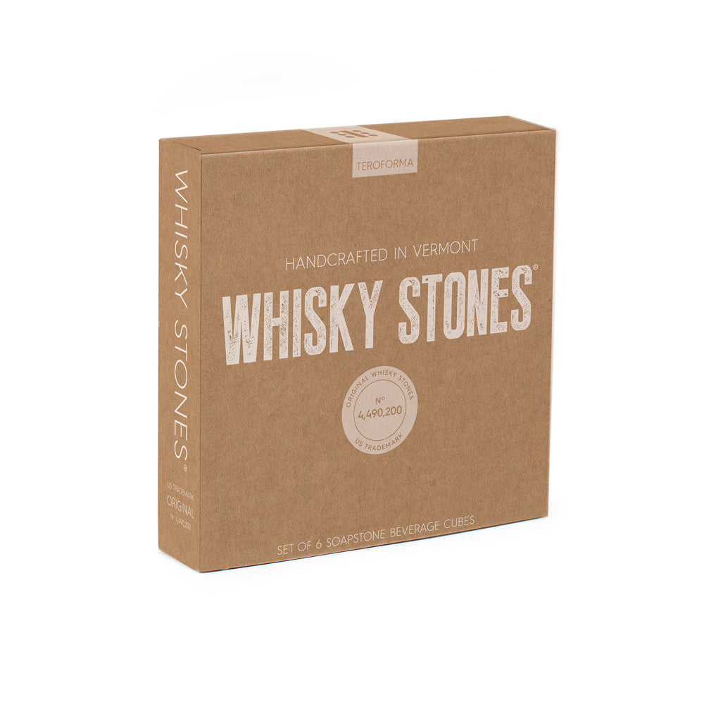 Set of 6 Whiskey Stones design by Teroforma