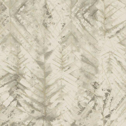 Textural Impremere Wallpaper in Beige from the Impressionist Collection by York Wallcoverings