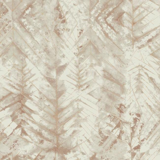 Textural Impremere Wallpaper in Brown from the Impressionist Collection by York Wallcoverings