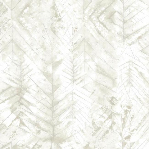 Textural Impremere Wallpaper in Ivory and Tan from the Impressionist Collection by York Wallcoverings