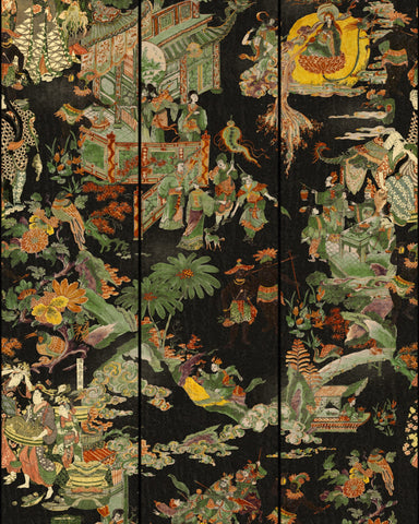 The Oriental Tale Wallpaper from the Wallpaper Compendium Collection by Mind the Gap