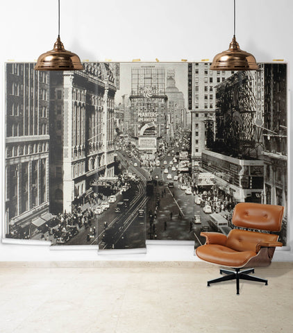 The Crossroads Wall Mural from the Erstwhile Collection by Milton & King