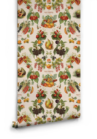 The Fruit Growers Guide Wallpaper from the Erstwhile Collection by Milton & King