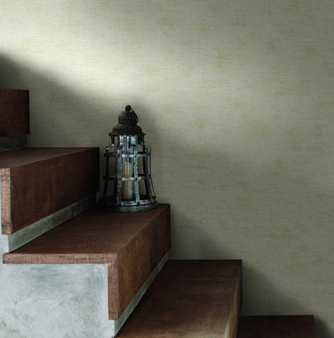 The Printery Wallpaper in Off-Whites and Neutrals from Industrial Interiors II by Ronald Redding for York Wallcoverings