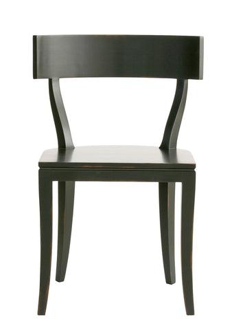 Thomas Side Chair in Black design by Redford House