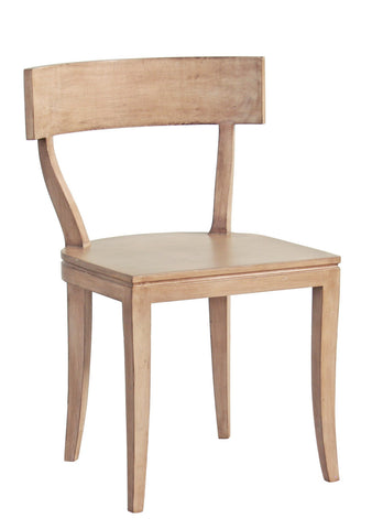 Thomas Side Chair in Cashew design by Redford House