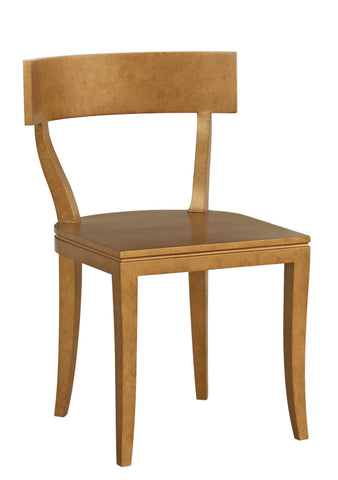 Thomas Side Chair in Antique Gold design by Redford House