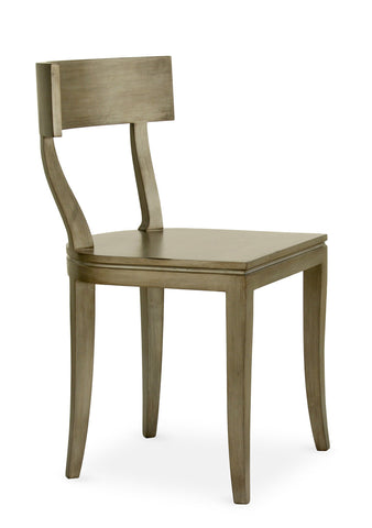 Thomas Side Chair in Tarnished Silver design by Redford House