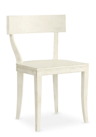 Thomas Side Chair in Raw Cotton design by Redford House