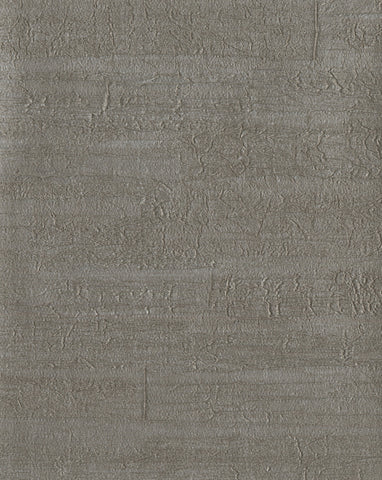 Timber Wallpaper in Grays and Metallic from Industrial Interiors II by Ronald Redding for York Wallcoverings