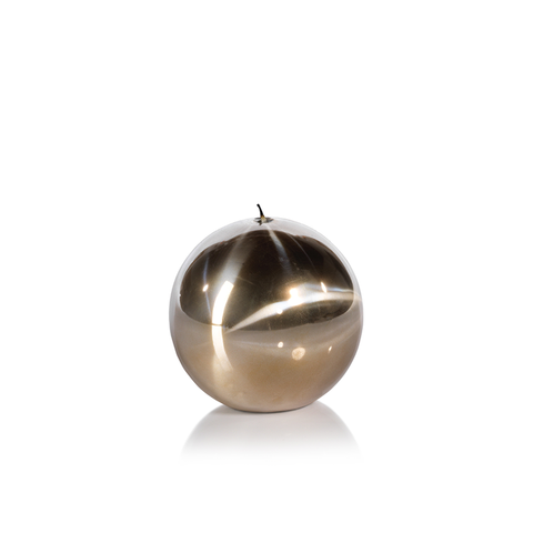 Titanium Gold Ball Candle in Various Sizes