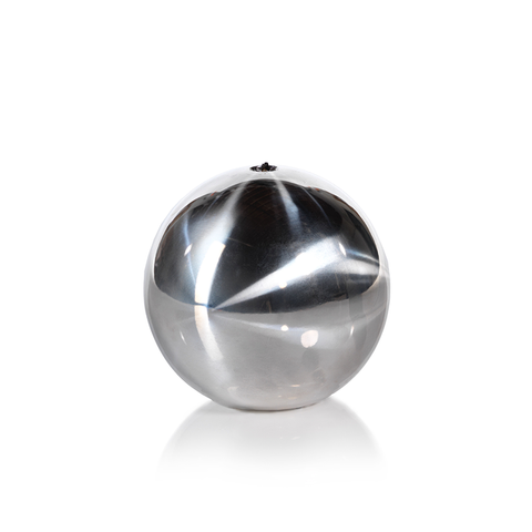 Titanium Silver Ball Candle in Various Sizes