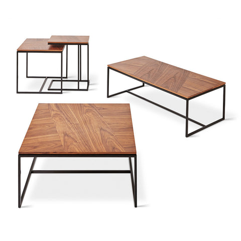Tobias Nesting Table design by Gus Modern
