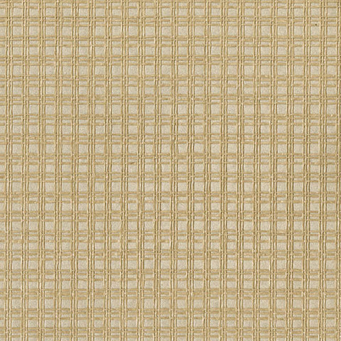 Tomek Beige Paper Weave Wallpaper from the Jade Collection by Brewster Home Fashions