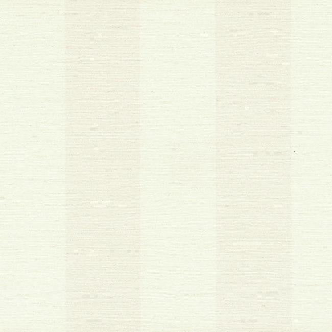 Sample Tonal Stripe Wallpaper in Ivory and Pearl design by York Wallcoverings