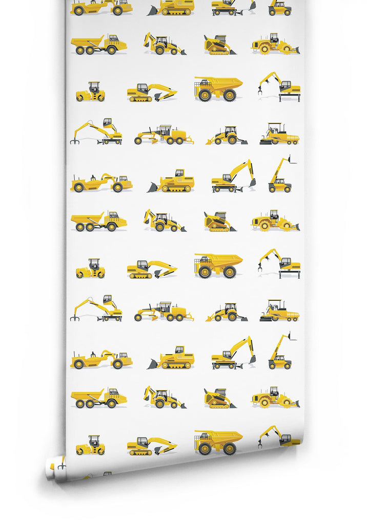 Sample Tonka Tough Wallpaper by Muffin & Mani for Milton & King