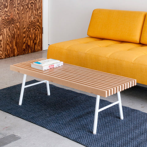 Transit Bench in Ash design by Gus Modern