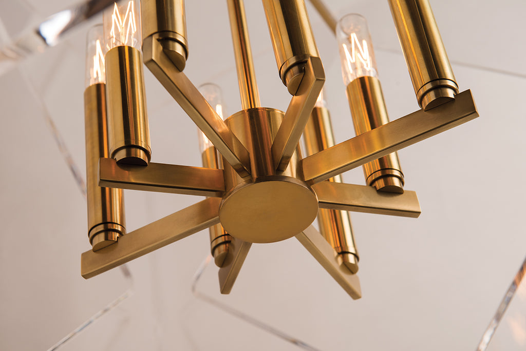 Travis 8 Light Pendant