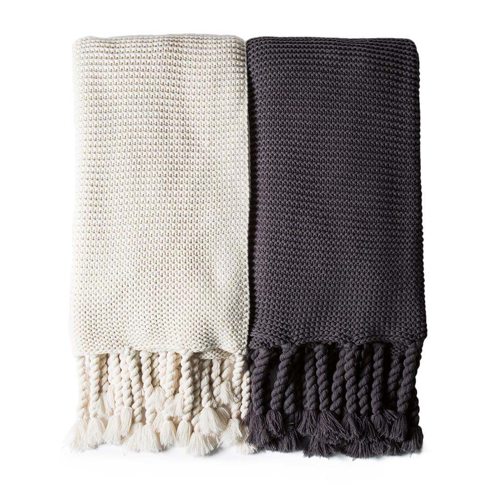 Trestles Oversized Throw in Various Colors design by Pom Pom at Home