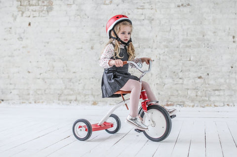 Children's Red Bicycle Helmet by BD