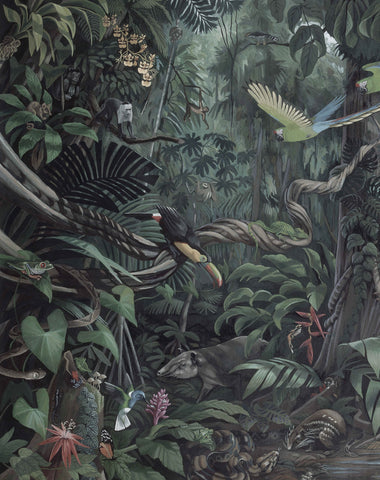 Tropical Landscape 003 Wallpaper Panel by KEK Amsterdam