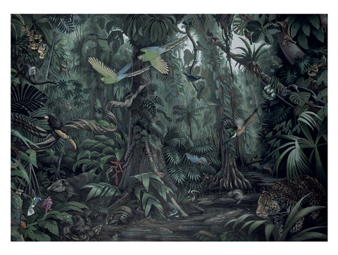Tropical Landscapes 602 Wall Mural by KEK Amsterdam