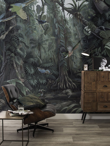 Tropical Landscapes 601 Wall Mural by KEK Amsterdam