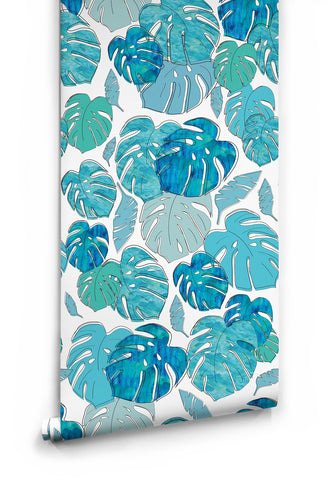 Sample Tropicale Wallpaper from the Tastemakers Collection design by Milton & King