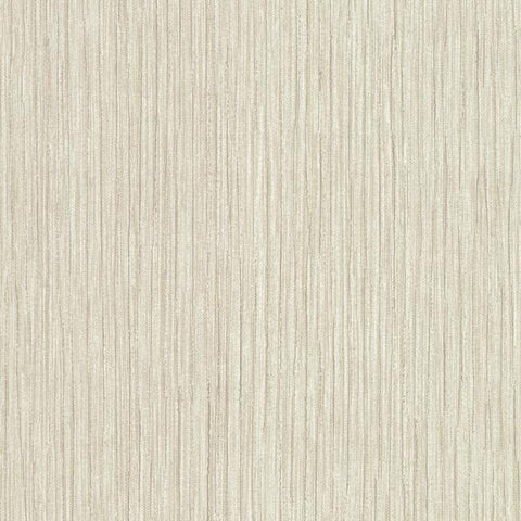 Tuck Stripe Wallpaper in Beige and Ivory from the Terrain Collection by Candice Olson for York Wallcoverings