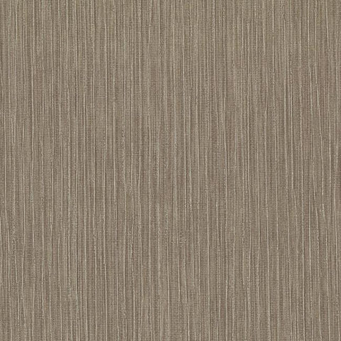 Tuck Stripe Wallpaper in Brown and Grey from the Terrain Collection by Candice Olson for York Wallcoverings