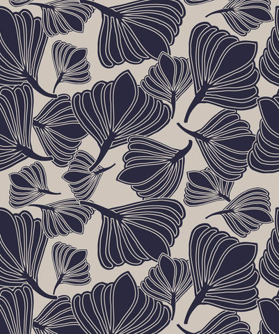 Tulip Seeds Wallpaper from the Wallpaper Republic Collection by Milton & King