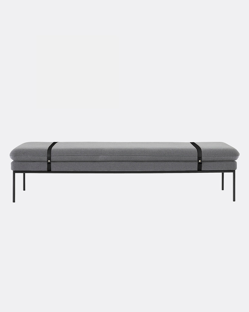 Turn Wool Daybed in Light Grey design by Ferm Living