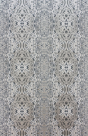 Turquino Wallpaper in Metallic and Mica Linen by Matthew Williamson for Osborne & Little