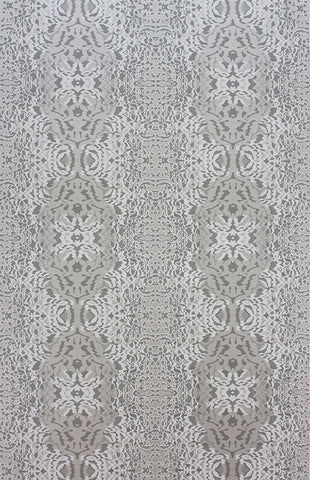 Turquino Wallpaper in Stone and Pebble by Matthew Williamson for Osborne & Little