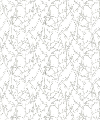Twigs Wallpaper from the Wallpaper Republic Collection by Milton & King