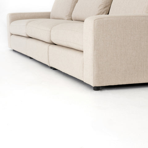 Bloor 3 Piece Sectional in Essence Natural