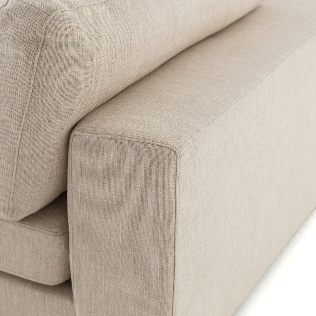 Bloor 7 Pc Sectional Ottoman In Essence Natural