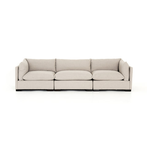 Westwood 3-Pc Sectional in Bennett Moon
