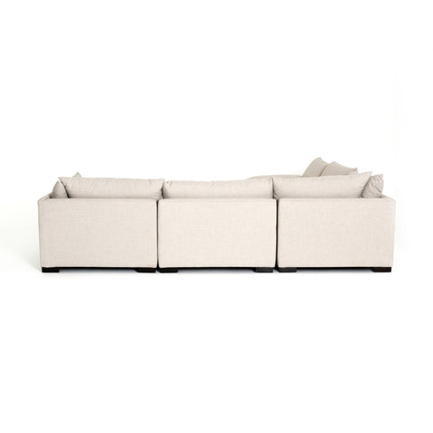 Westwood 5-Pc Sectional W/ Ottoman in Bennett Moon