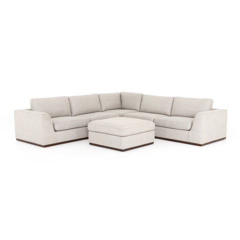 Colt 3 Piece Sectional with Ottoman