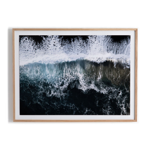 Wave Break 1 Wall Art by Michael Schauer