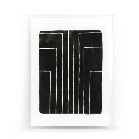 Vertigo Print Shadow Box by Jesse Engle Wall Art
