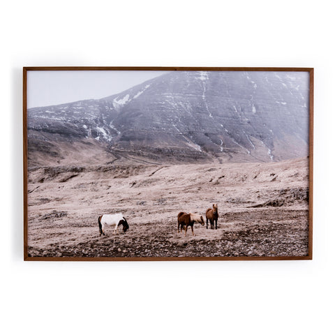 Wild Horses Wall Art design by BD Studio